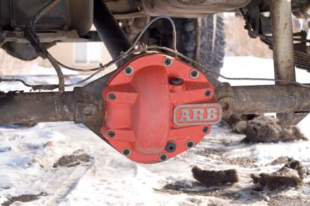 dana 44 arb differential cover
