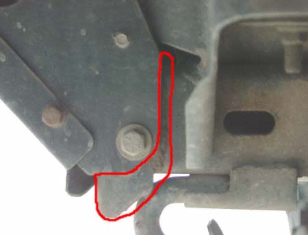 reinforced arb bull bar bracket