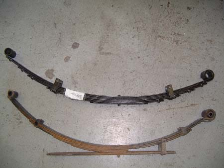 leaf springs comparison