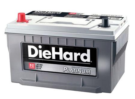 diehard platinum p-2 agm battery