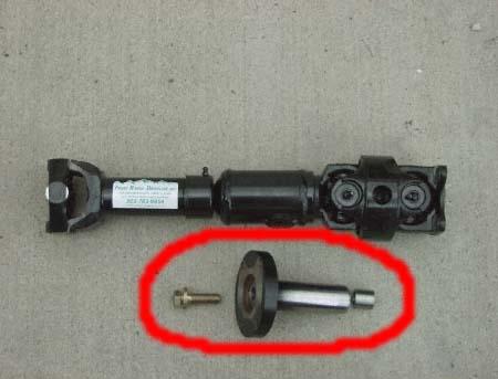 transfer case sye yoke drive shaft