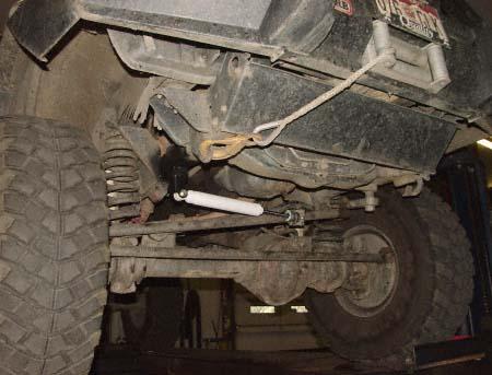 steering stabilizer