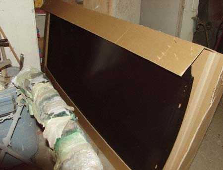 montero sport roof pannel