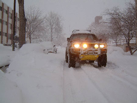 montero sport blizzard