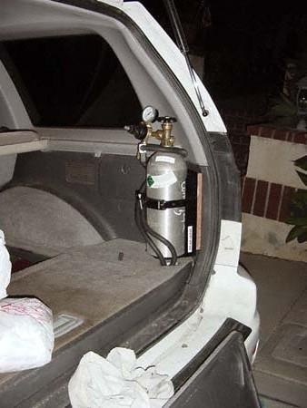 montero sport co2 tank