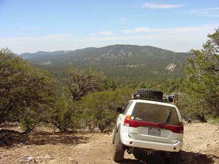 san bernadino mountains california