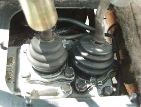 transmission transfer case shifter boot