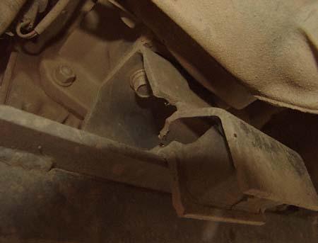 5-speed manual transmission mount