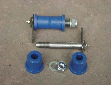 greasable spring bolts bushings