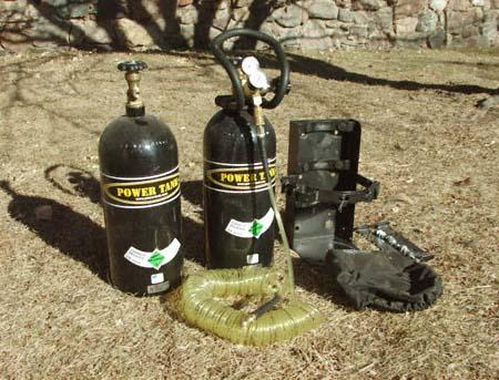 power tank co2 nitrogen