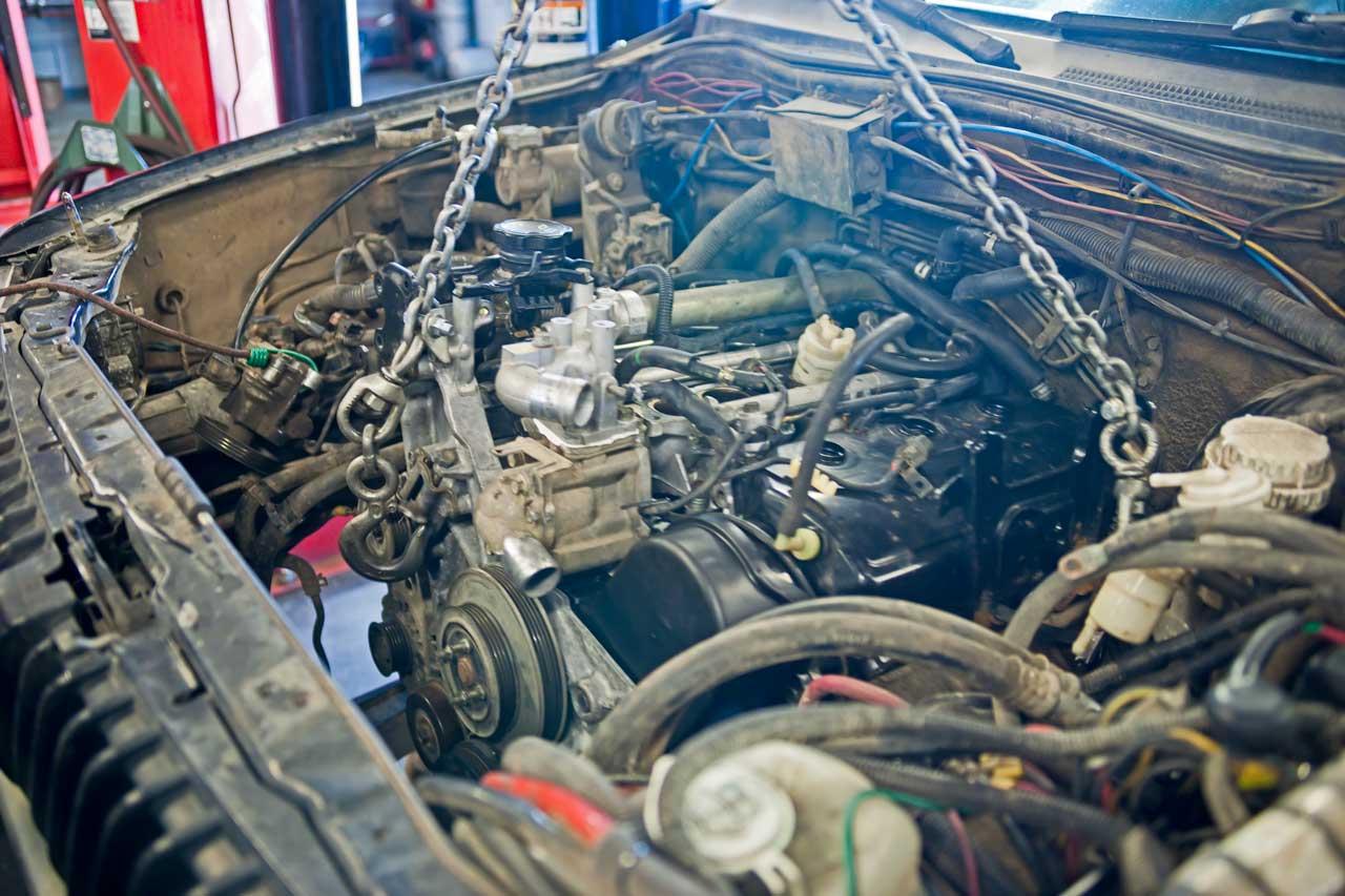 mitsubishi 3.5L engine montero sport