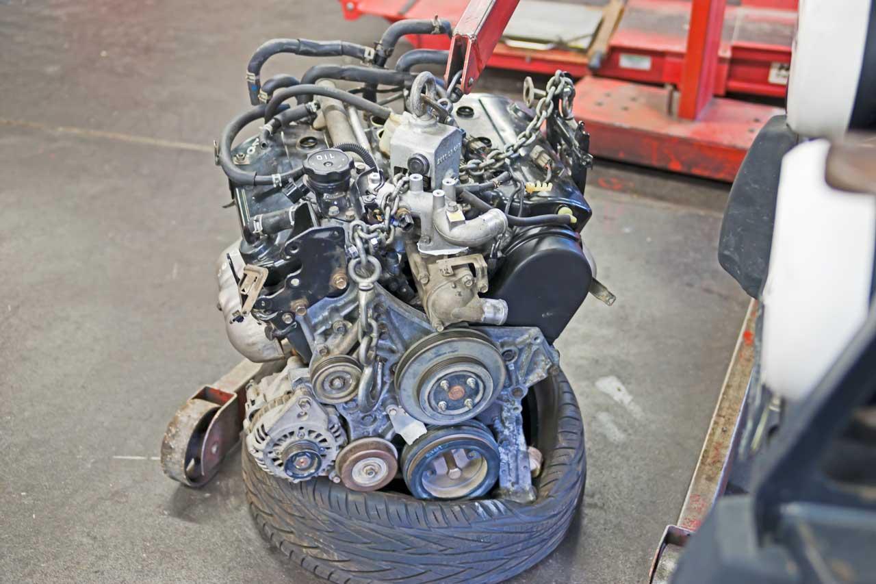 2002 mitsubishi montero sport 3.5 engine